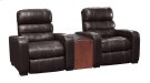 Home Theatre Recliner & Wedge Arm w/ Round Cupholder Product Image