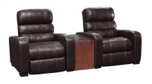 Home Theatre Recliner & Wedge Arm w/ Round Cupholder