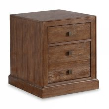 Hampton File Cabinet with Casters