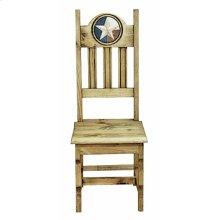 Wood Seat Lonestar Marble Chair