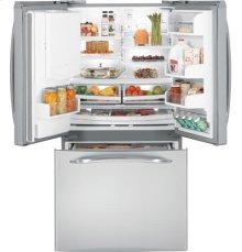 GE Profile™ Series ENERGY STAR® 20.9 Cu. Ft. French-Door Bottom-Freezer Refrigerator