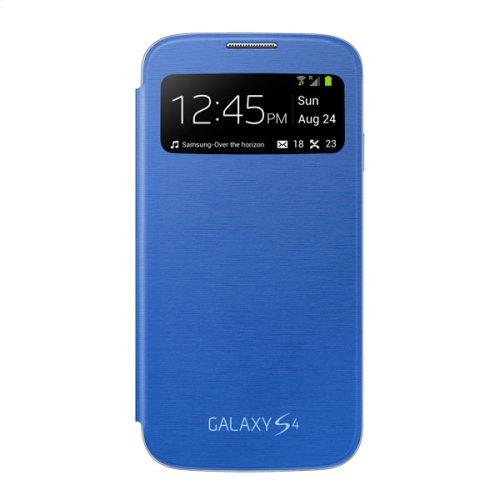 Galaxy S 4 S-View Flip Cover, Light Blue