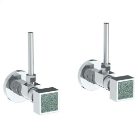 "Lavatory Angle Stop Kit -1/2"" Compression X 3/8"" Od Compression"