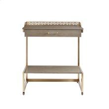Oasis - Catalina Bar Cart In Grey Birch