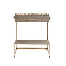 Oasis-Catalina Bar Cart in Grey Birch