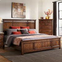 Bedroom - Wolf Creek Panel Bed Product Image