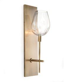 Glass Globe One-Light Wall Sconce