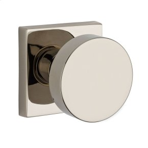 Polished Nickel Contemporary Reserve Knob