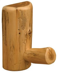 Curtain Bracket - Natural Cedar