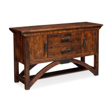B&O Railroade Trestle Bridge Sideboard
