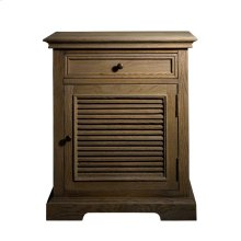 Britania Shutter Accent Table