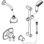 GroheGrohFlex Shower Set Thermostat valve