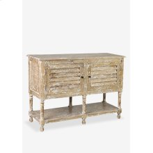 """Promenade 46"""" console table w/ 2 doors and 1 shelve (46X16X33)...."""