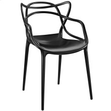 Entangled Dining Armchair in Black