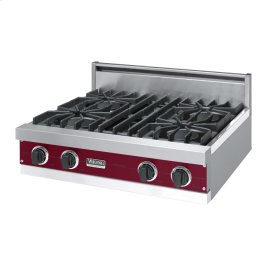 "Burgundy 30"" Open Burner Rangetop - VGRT (30"" wide, four burners)"