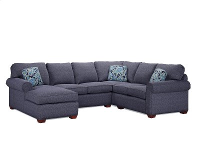 2655 LF 1 Arm Chaise, 2649 Armless Loveseat, 2647 Wedge, 2642 RF 1 Arm LS