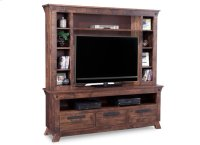 Algoma HDTV Unit with Hutch with 44'' TV IOpening Product Image