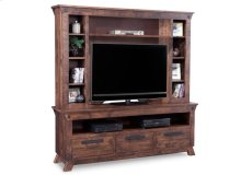 Algoma HDTV Unit with Hutch with 44'' TV IOpening