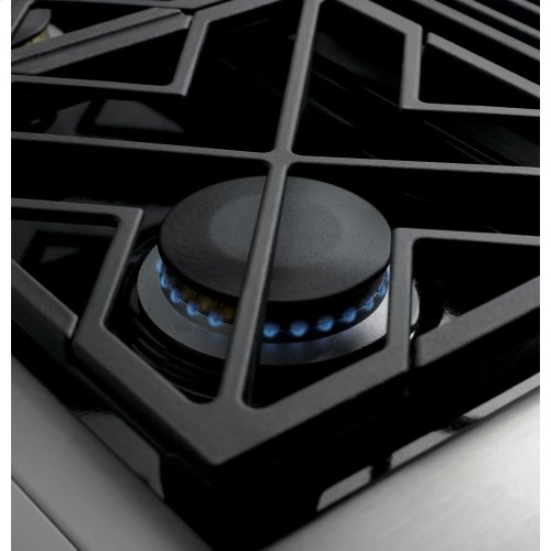 "Monogram 36"" All Gas Professional Range with 4 Burners and Griddle (Natural Gas)"
