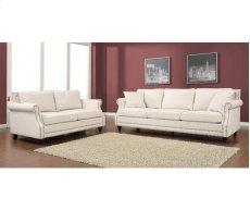 Camden Beige Linen Sofa Product Image