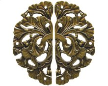 Florid Leaves - Antique Brass