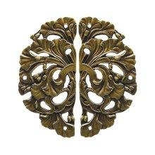 Florid Leaves - Antique Brass