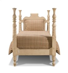 Traditional Scroll Custom Bed