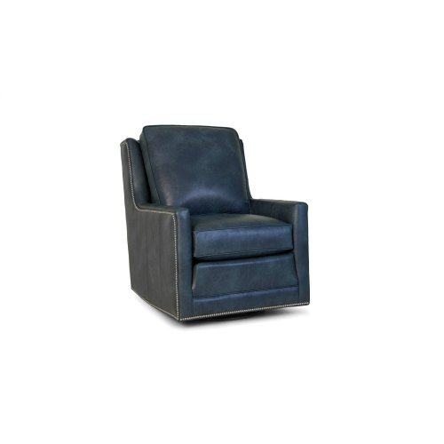 Leather Swivel Tiltback Chair