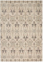 Silver Screen Ki341 Grey/slate Rectangle Rug 5'3'' X 7'3''