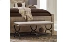 Monteverdi by Rachael Ray Bed Bench/Luggage Rack Product Image