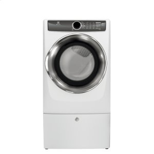 ElectroluxFront Load Perfect Steam Gas Dryer with Instant Refresh and 9 cycles - 8.0. Cu. Ft.