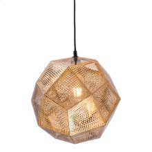 Bald Ceiling Lamp Gold