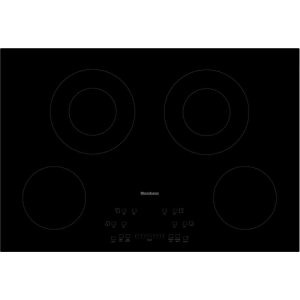 "Blomberg30"" electric cooktop, 4 burner, touch controls"