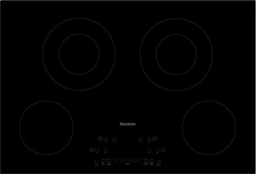 "30"" electric cooktop, 4 burner, touch controls"