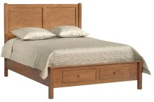 American Expressions Queen Panel Bed