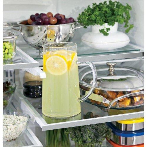 GE Profile™ Series ENERGY STAR® 23.1 Cu. Ft. Counter-Depth French-Door Refrigerator