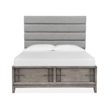 Complete Cal King Upholstered Storage Bed
