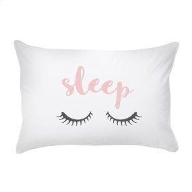 """Sleep"" Pillow Case."