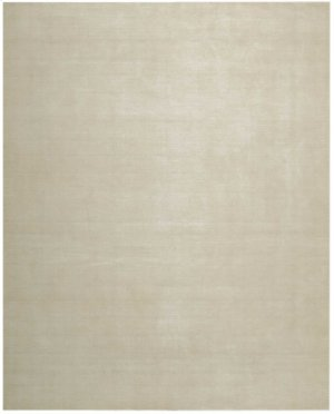 Christopher Guy Mohair Collection Cgm01 Ivoire Rectangle Rug 10' X 14'