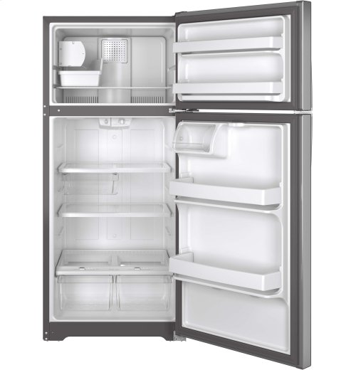 FACTORY BLEMISH UNIT - GE® ENERGY STAR® 15.5 Cu. Ft. Top-Freezer Refrigerator