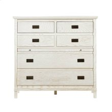 Coastal Living Resort Haven's Harbor Media Chest in Nautical White