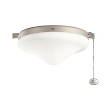 Wet Rated Light Kit in Antique Satin Silver ANS