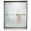 Euro Frameless Sliding Shower Doors - Gold Product Image
