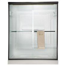 Euro Frameless Sliding Shower Doors - Gold