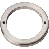 Tableau Round Base 2 1/2 Inch - Brushed Nickel