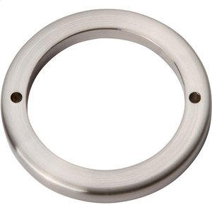 Tableau Round Base 2 1/2 Inch - Brushed Nickel Product Image