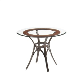 Kai Table With Wood Ring Insert