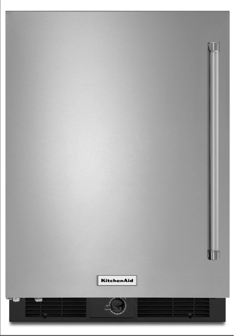 24 Undercounter Refrigerator With Stainless Steel Door