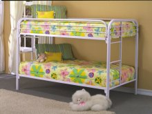 Twin/twin Bunk Bed (wh)