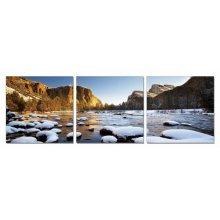 Modrest Yosemite 3-Panel Photo On Canvas